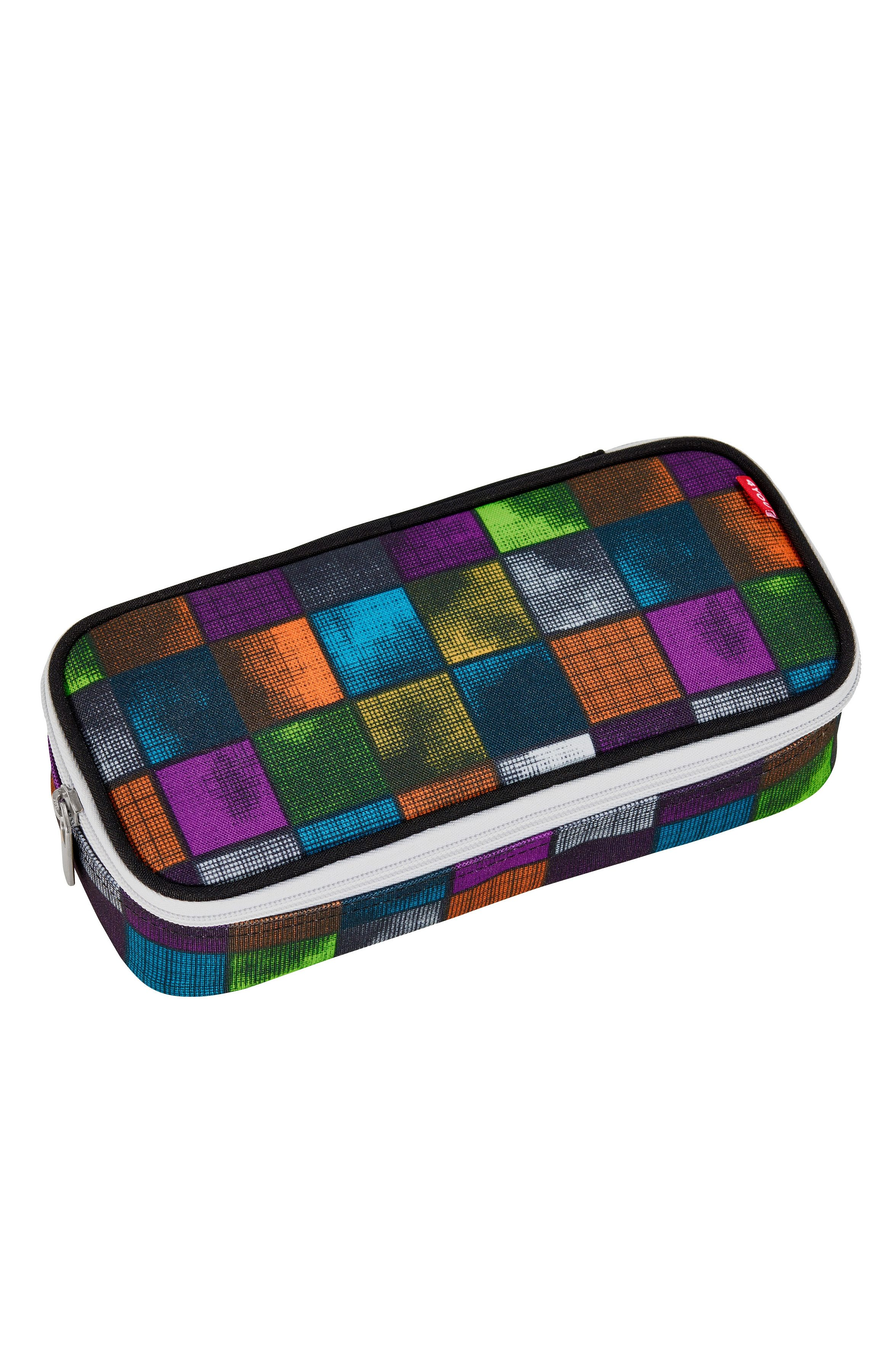 4YOU Mäppchen mit Geodreieck®, Miami Squares, »Pencil Case«